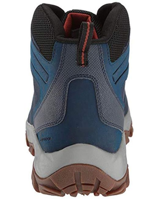 bf4e73ae4 Men's Blue Newton Ridge Plus Ii Waterproof Hiking Shoe