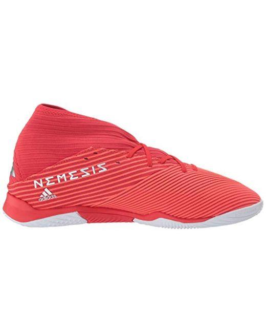 133438121d2f7 Men's Red Nemeziz 19.3 Indoor Soccer Shoe