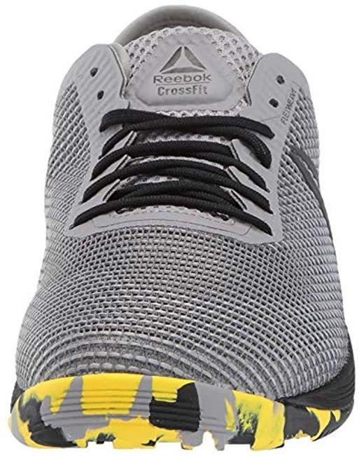 a94270cd02f57 Men's Gray Crossfit Nano 8.0 Cross Sneaker