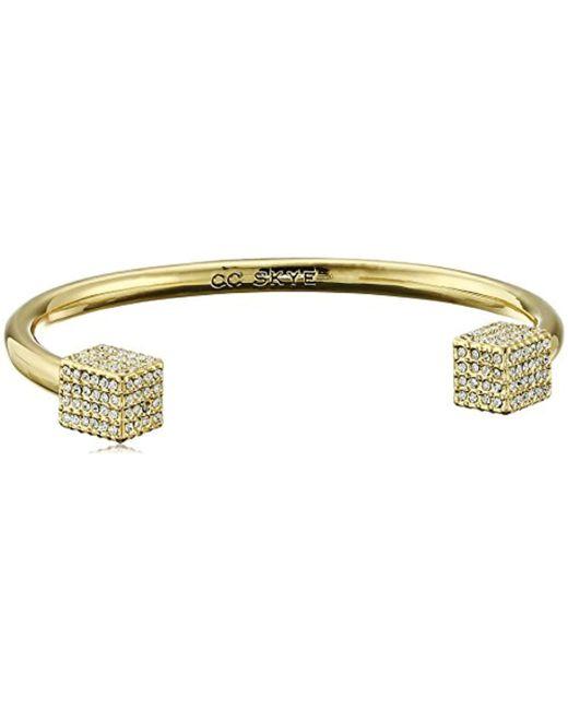 CC SKYE - Metallic The Block Party Cuff Bracelet - Lyst