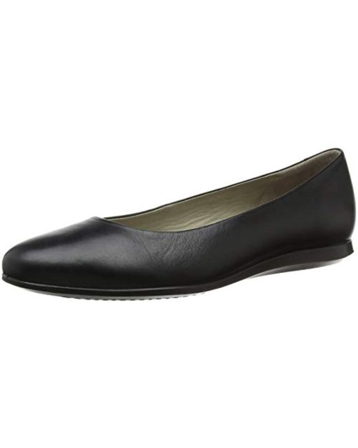 Ecco - Black S Touch 2.0 Ballet Flat - Lyst