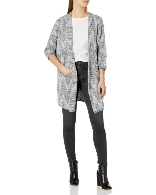 Lucky Brand Gray Ashley Cocoon Sweater
