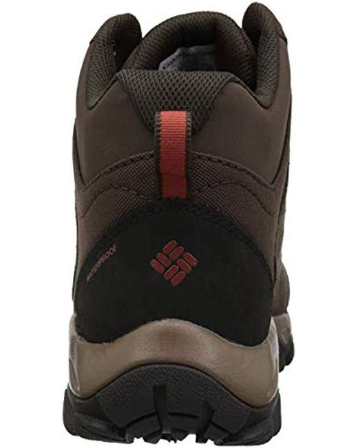... Columbia - Brown Buxton Peak Mid Waterproof Wide Hiking Boot for Men -  Lyst ... 25a52af939