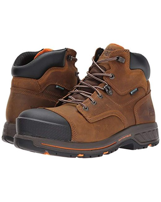 388d6b5fc52 Lyst - Timberland Helix 6 Hd Composite Safety Toe Waterproof Br ...
