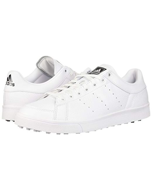 e30388fcedc0 ... Adidas - White Adicross Classic Wd Golf Shoe for Men - Lyst ...
