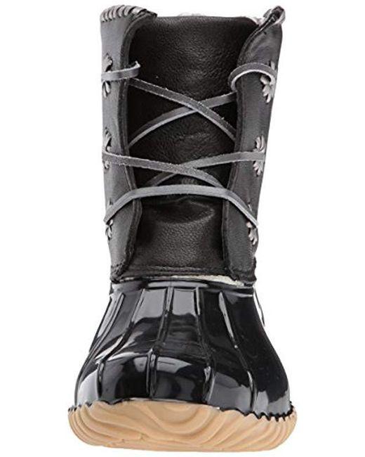 a95873c4af8 Women's Black Chloe Metallic Rain Boot