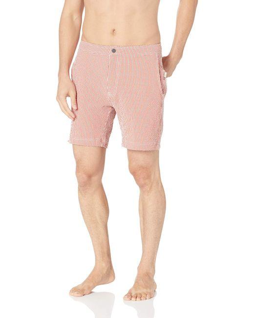 Onia Pink Calder 7.5 for men