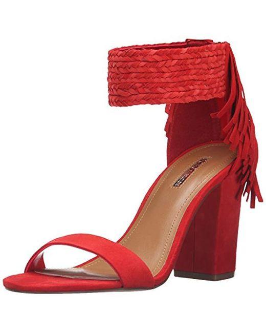 BCBGeneration - Red Bg-calizi Dress Sandal - Lyst