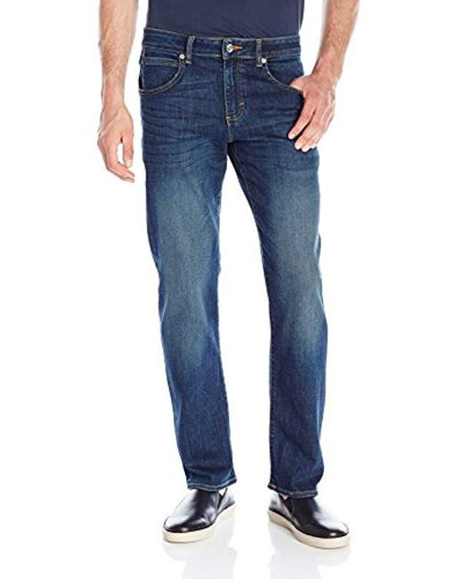 bb0e4d4a Lyst - Lee Jeans Modern Series Straight Fit Jean in Blue for Men ...