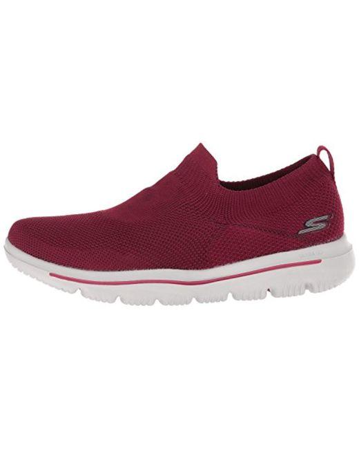 5f178ebba6e22 Women's Red Performance Go Walk Evolution Ultra Sneaker,raspberry,10.5 M Us