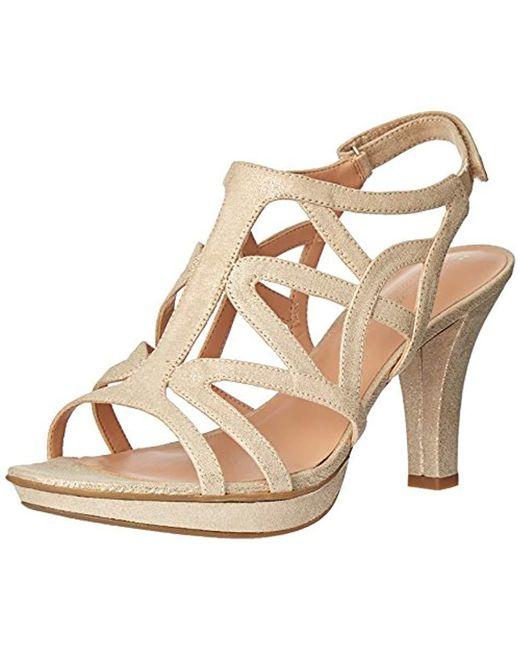 Naturalizer Metallic Danya Dress Sandal