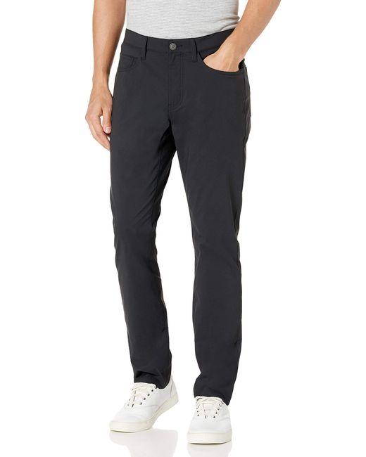 Slim-Fit Hybrid 5-Pocket Pant Pantalon Goodthreads pour homme en coloris Black