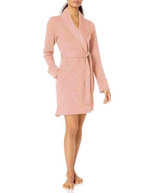 Ugg Pink L/s Short Robe
