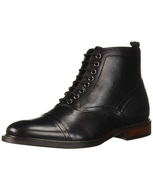Steve Madden Black Ketonic Combat Boot for men