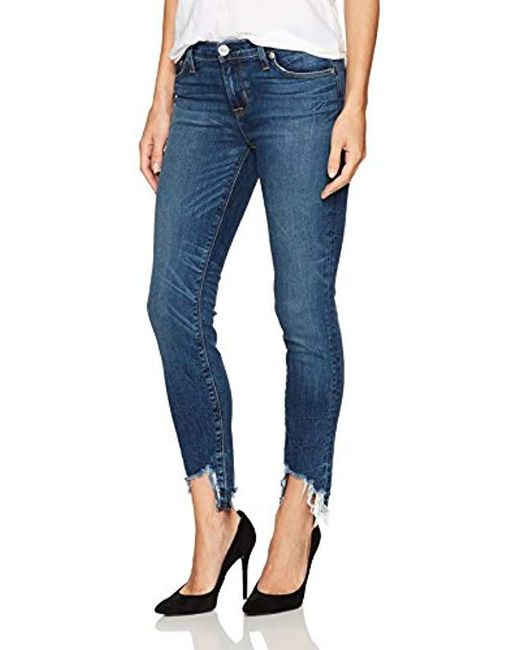 Hudson - Blue Colette Midrise Skinny - Lyst