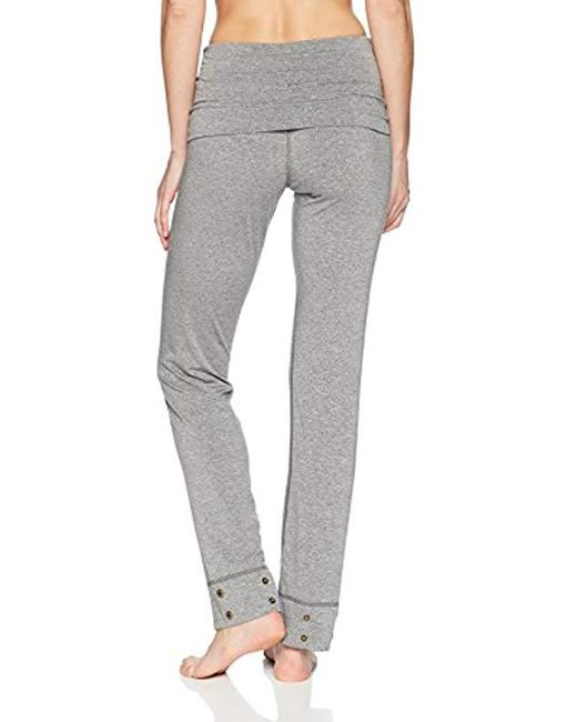 cafd8e6359084 ... Splendid - Black Activewear Yoga Marled Jersey Convertible Bottom - Lyst