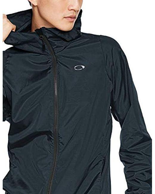 c1b280e5077 ... Oakley - Blue Enhance Emboss Wind Jacket 8.7 for Men - Lyst ...