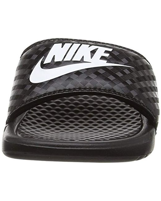 67f9fc402919 ... Nike - Black Benassi Just Do It Walking Shoe - Lyst ...