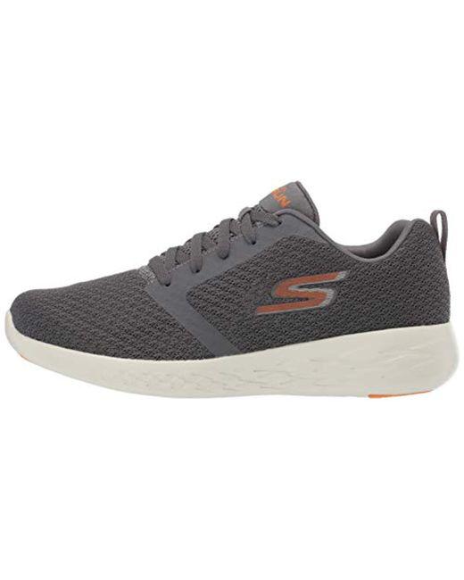 Men's Gray Go Run 600 Slip On Sneakers