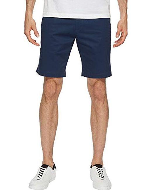 "Calvin Klein - Blue 9"" Twill Walking Short for Men - Lyst"