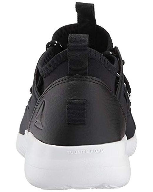 Lyst - Reebok Cardio Motion Running Shoe in Black - Save 46% f9b5439a3