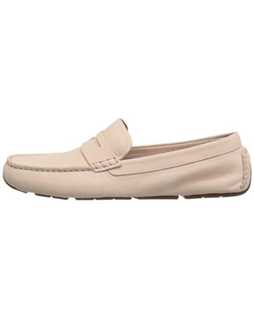 41da015c14b Lyst - Cole Haan Rodeo Penny Driver in Natural - Save 35%