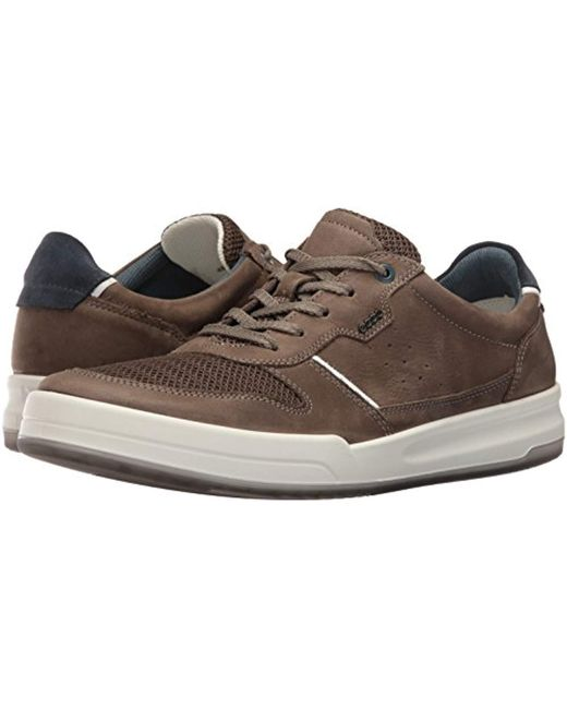 4a91c55e4edda Ecco Jack Summer Fashion Sneaker in Brown for Men - Save 19% - Lyst
