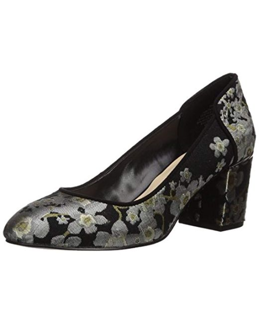 Nine West - Black Analia Fabric Pump - Lyst