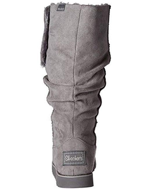 Women's Big Slouch Keepsakes Gray Winter Tall Button Boot IeE9YWDH2b