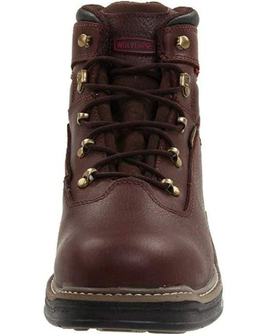 6ead45384c6 Men's Brown W04821 Buccaneer Work Boot