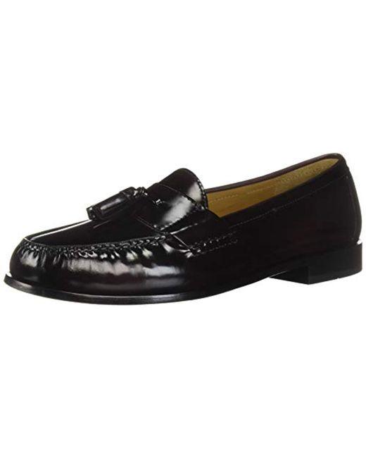 Cole Haan Black Pinch Tassel Loafer for men