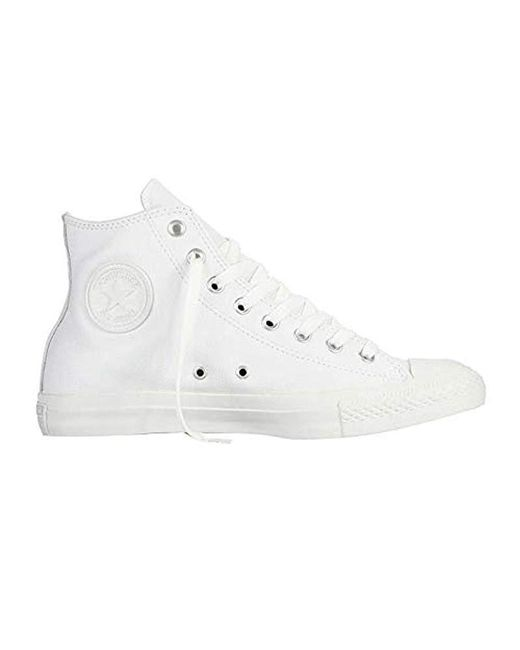 6a94d6b38ddf4 Men's White Chuck Taylor All Star Leather High Top Sneaker