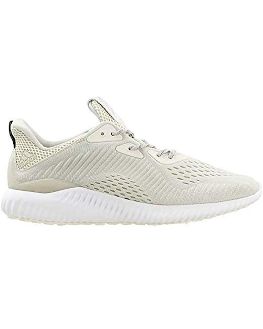 detailed look 6d898 6f019 ... Adidas - White Alphabounce Em M Running Shoe for Men - Lyst ...