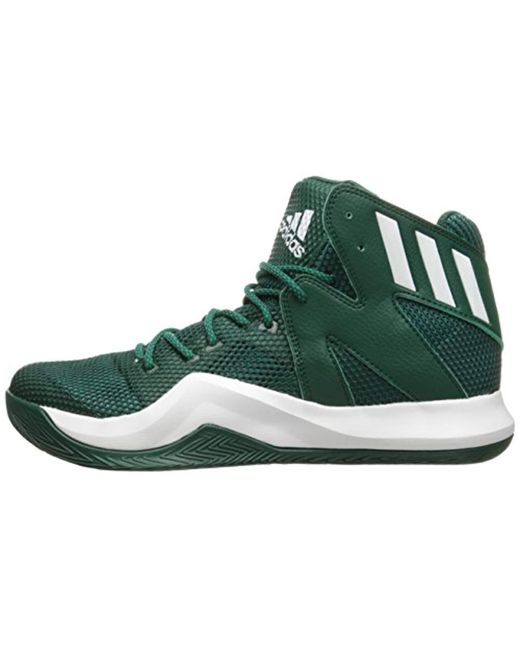 f5d878f165c0 ... Adidas - Green Performance Crazy Bounce Basketball Shoe for Men - Lyst  ...