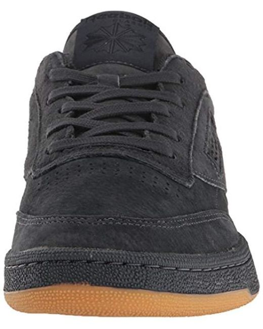 2b57dda2d6062 Men's Black Club C 85 Tg Fashion Sneaker