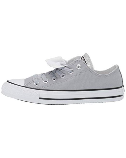 Converse Women's Converse Chuck Taylor All Star Double Tongue Patent Sneakers, Size: 9, Black from Kohl's | People