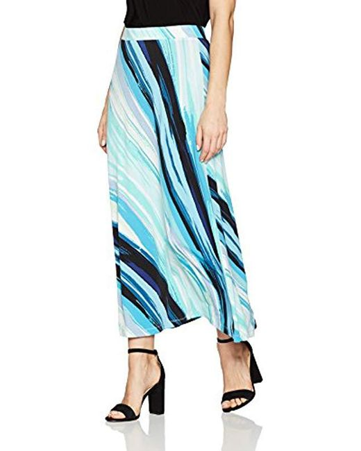Kasper - Blue A Line Maxi Skirt (2) - Lyst