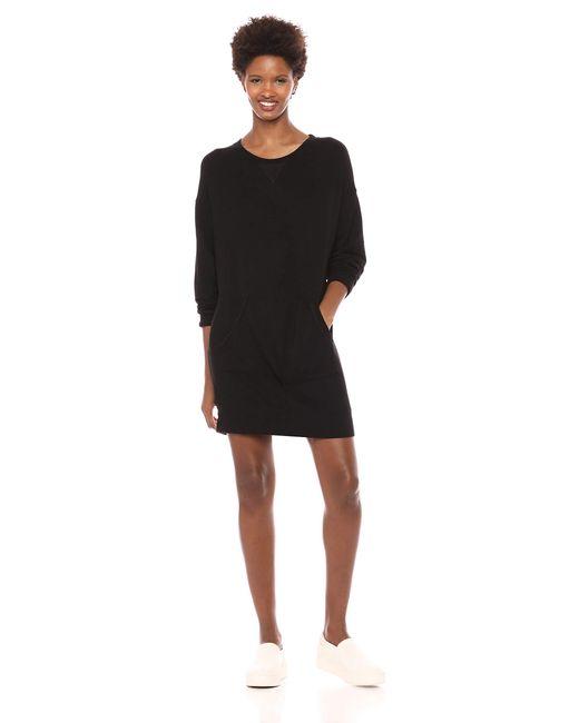Splendid Black Active Pullover Dress