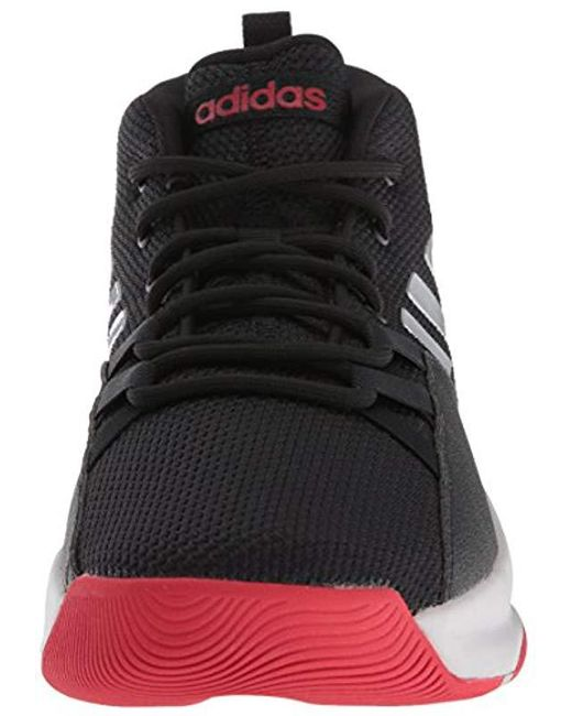 df43e70eb0e3 Lyst Adidas Streetfire Basketball Shoe In Black For Men