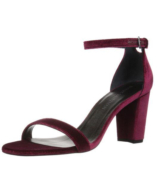 Stuart Weitzman Multicolor Nearlynude Heeled Sandal