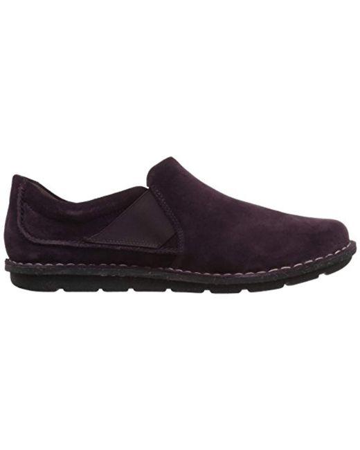 440e685447e Lyst - Clarks Tamitha Gwyn Loafer in Purple - Save 55%