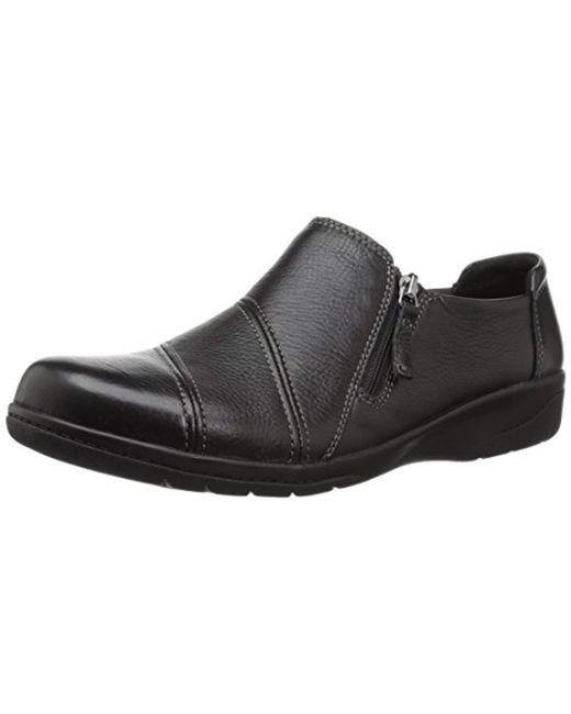 Clarks Black Cheyn Clay Loafer