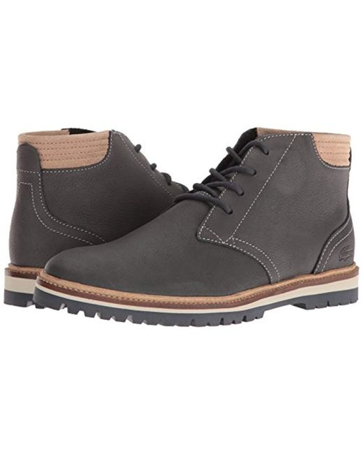 baskets pour pas cher 145f9 3d780 Men's Gray Montbard 416 1 Fashion Sneaker Chukka Boot