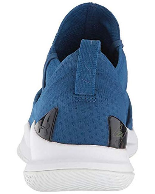 online store bae70 1b8ba Men's Blue Curry 5 Basketball Shoe