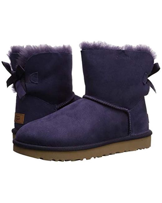 good selling free shipping exclusive deals UGG Suede Mini Bailey Bow Ii Fashion Boot - Lyst