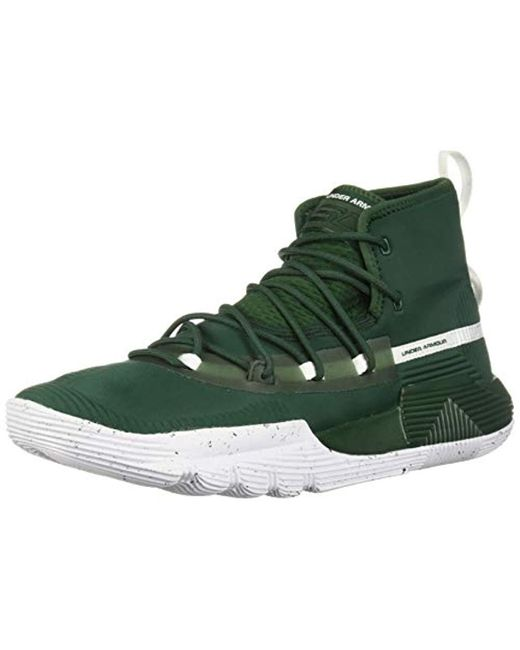new concept 98440 de44c Men's Green Sc 3zer0 Ii Basketball Shoe