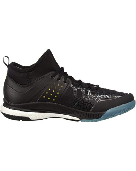 sale retailer 487aa 77cec Hombre Zapatos In Volleyball Adidas X Lyst Crazyflight Mid For Negro wYX0vq