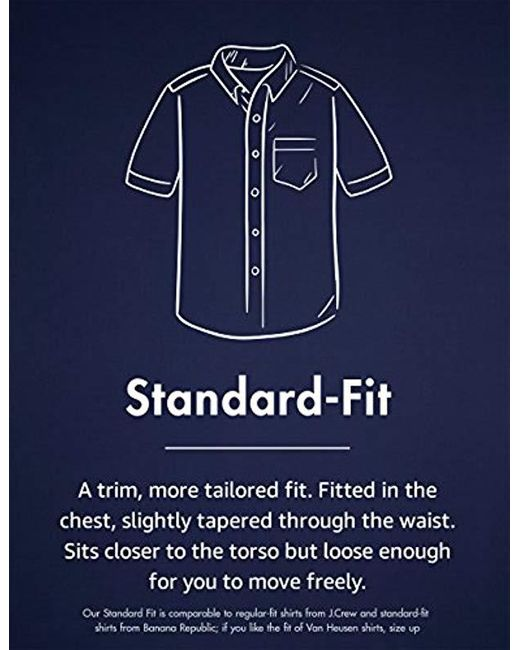 Brand Goodthreads Mens Slim-Fit Short-Sleeve Band-Collar Denim Shirt