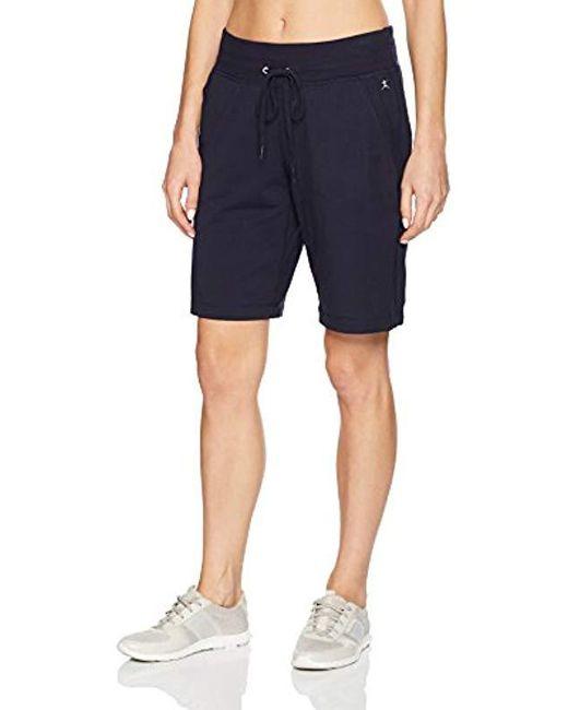 Danskin Blue Essential Bermuda Short