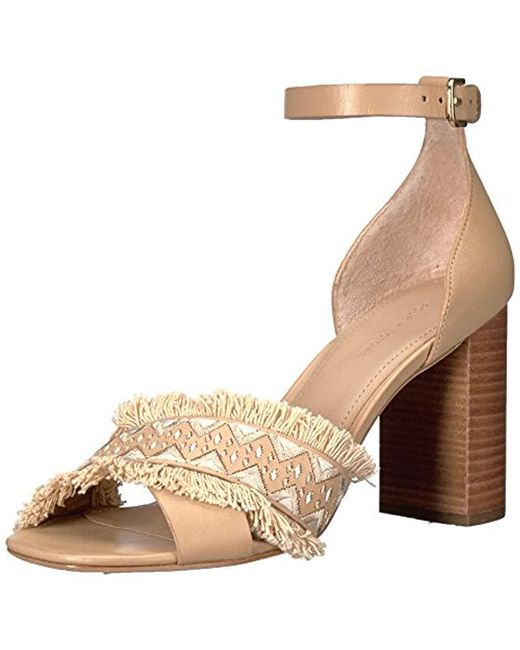 Pour La Victoire - Natural Havana Dress Sandal - Lyst